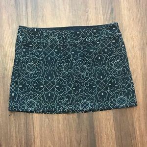 Alice + Olivia Embroidered Skirt